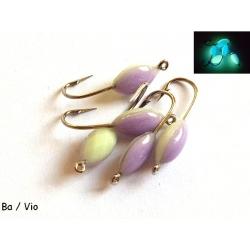 VMC lempytė (VMC nr. 8) balta / violetinė